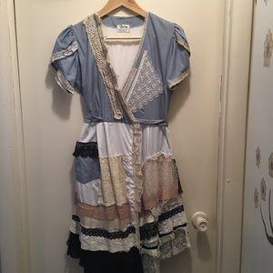 Victim Fashion by Mei Hui Liu london Boho Dress